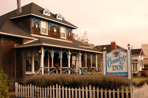 Welcome to the Country Inn, Fort Bragg, CA